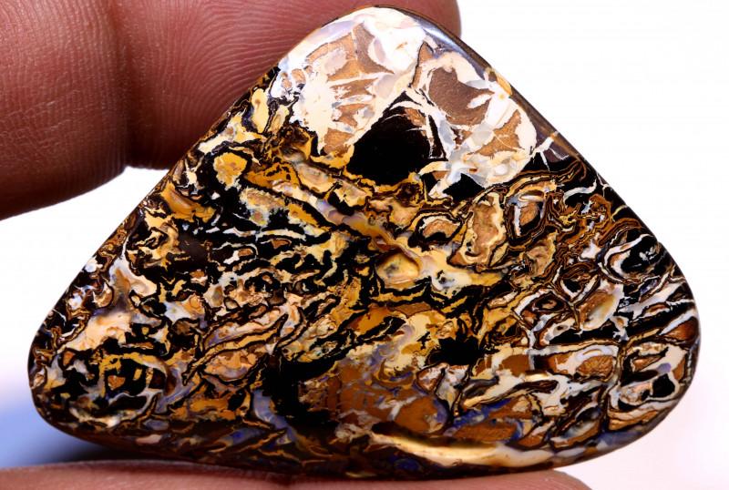 98.90cts Australian Yowah Opal Pattern Stone  DO-651