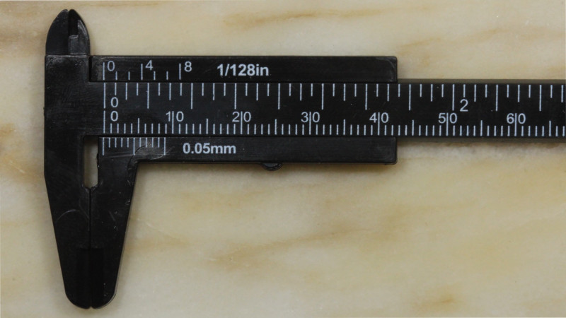 Mini Calipers For Measuring Opal [30030] 53FROGS