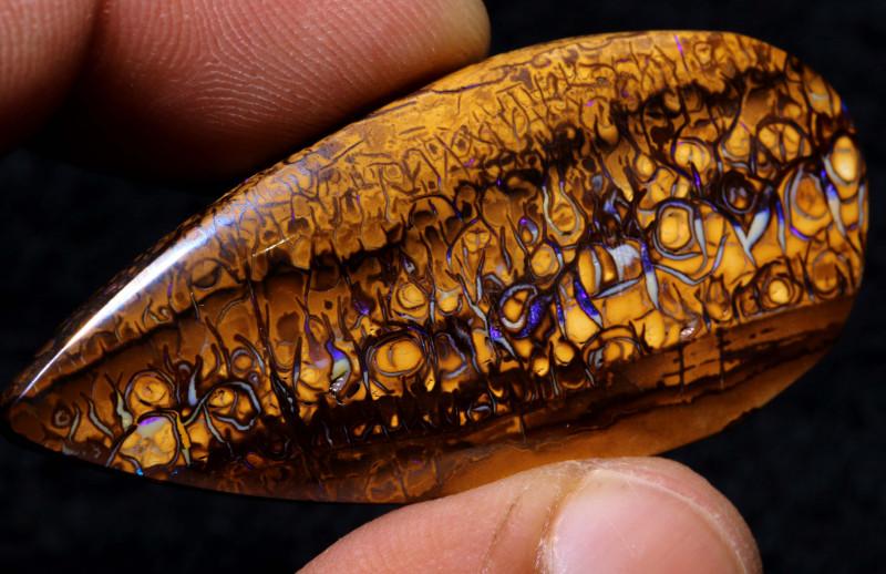 67.10cts Australian Yowah Opal Pattern Stone  DO-737