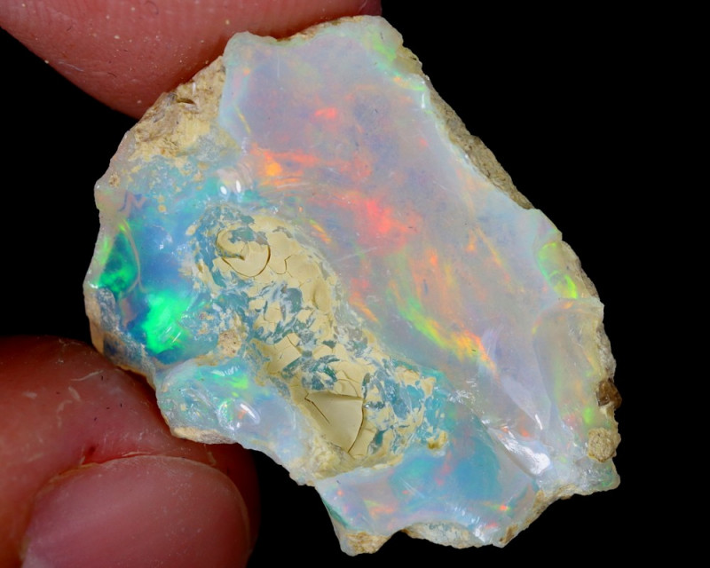 9cts Natural Ethiopian Welo Rough Opal / WR5121