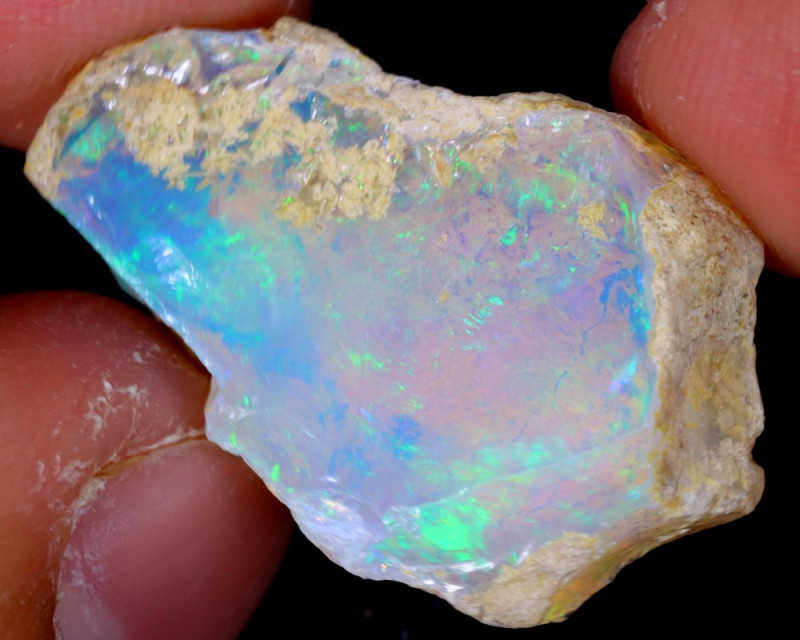 10cts Natural Ethiopian Welo Rough Opal / NY573