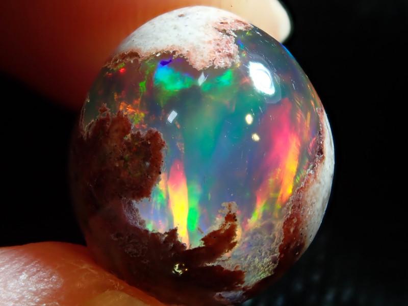 8.2ct Mexican Matrix Cantera Multicoloured Fire Opal