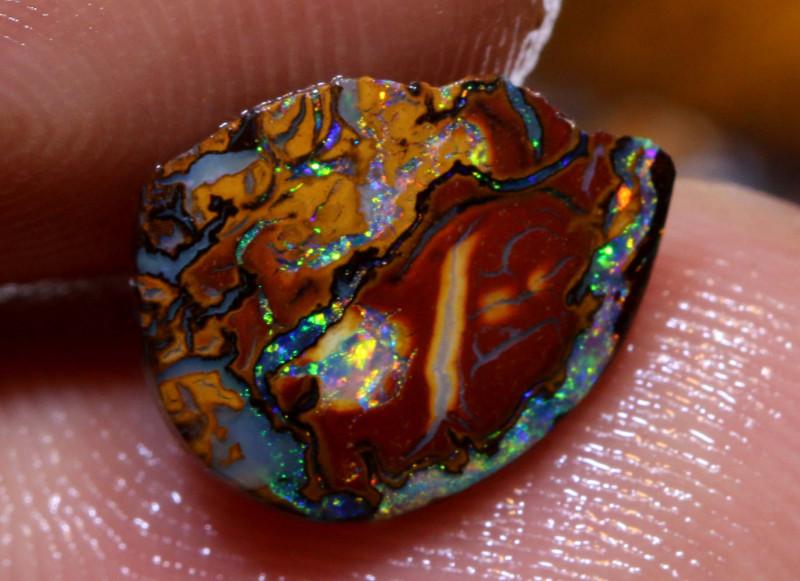 99 cts Australian Yowah Opal Rough Parcel DOP-63