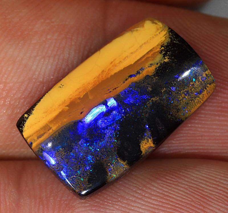 17.5ct 19x12mm Queensland Boulder Opal  [LOB-3665]