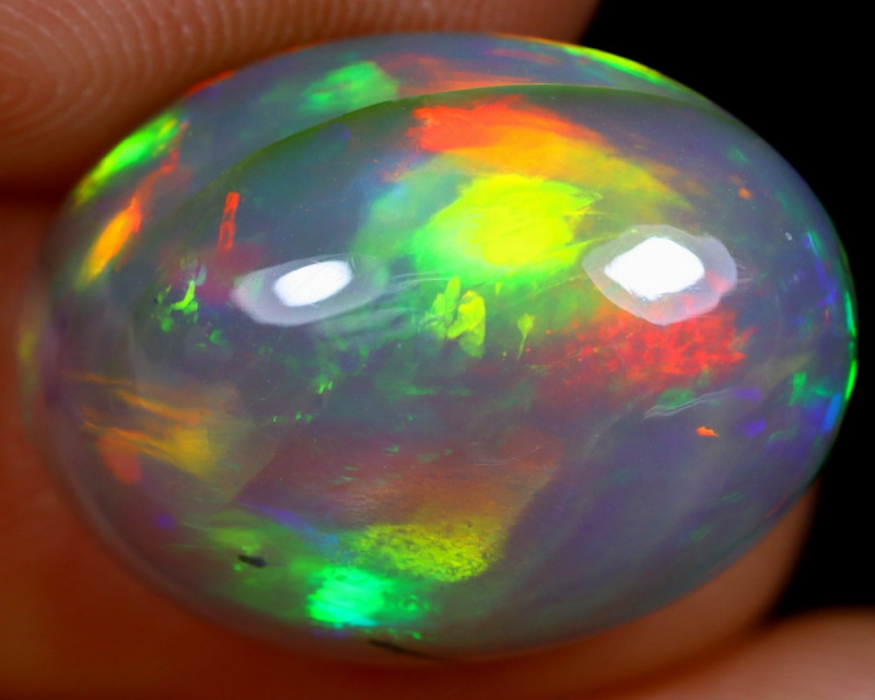 8.11cts Natural Ethiopian Welo Opal / BF4705