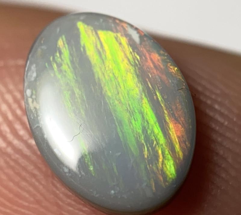 1.00 Golden Stripe Pattern Lightning Ridge Opal