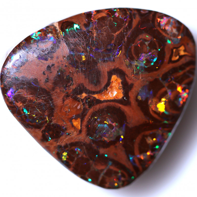 42.00 CTS BOULDER OPAL FROM YOWAH -GALAXY PATTERN [BMB579]