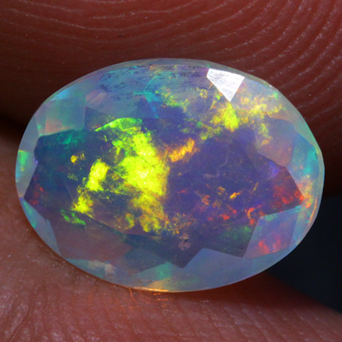 1.06 CT Top Quality!! Welo Ethiopian Faceted Opal-CF46