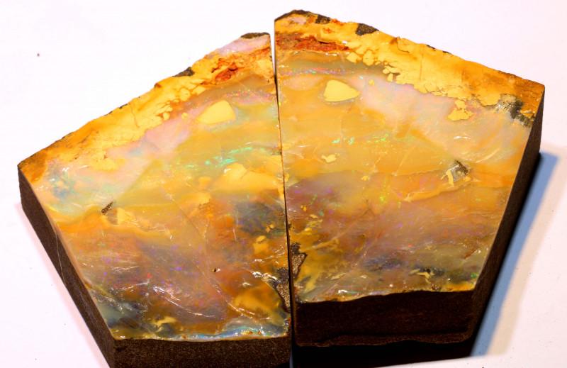 2000 ct Australian Boulder Opal Splits DO-957  Downunderopals