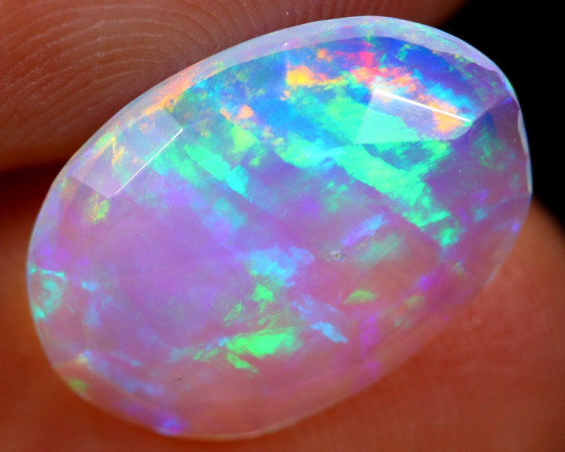 Rose Cut 2.31cts Natural Ethiopian Welo Opal / BF4797