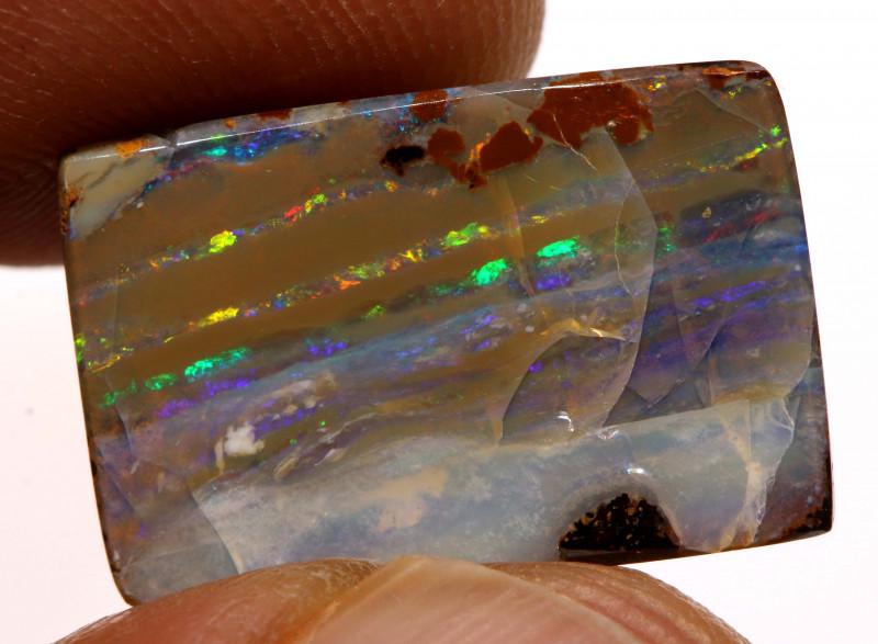 14 cts Australian Boulder Opal Stone  DO-1039