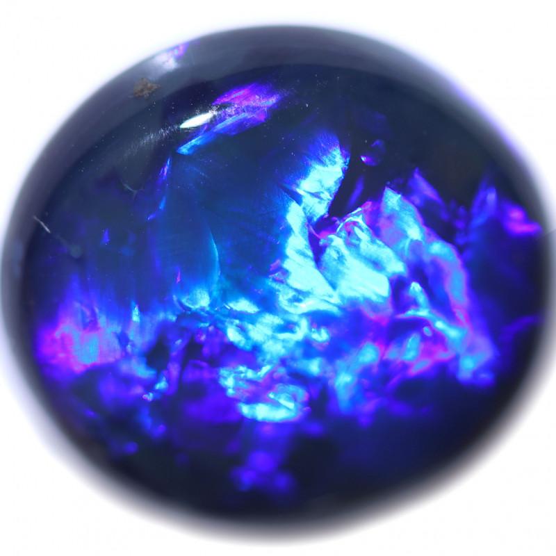 13.67 CTS BLUE  OPAL STONE-FROM LIGHTNING RIDGE - [LRO1672]