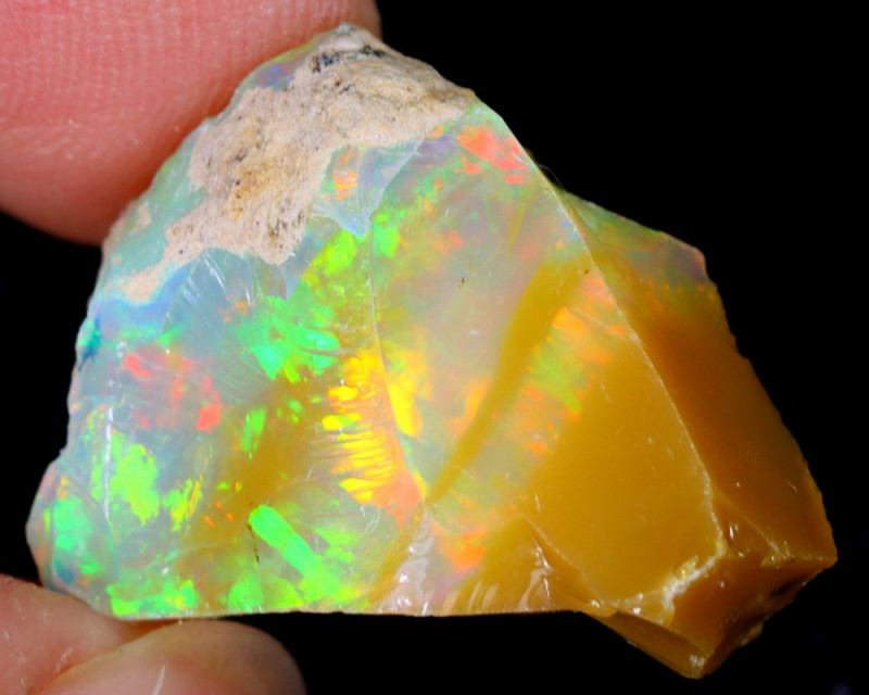 15cts Natural Ethiopian Welo Rough Opal / WR5657