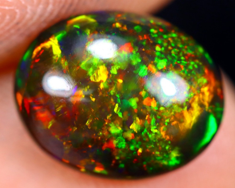 1.82cts Natural Ethiopian Welo Smoked Opal / HM1490