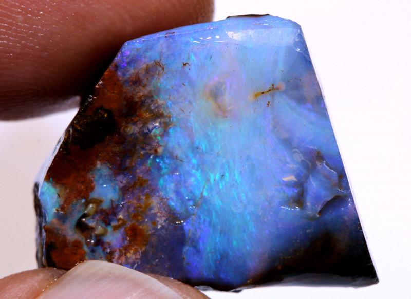 Boulder Opal Faced Rub 31 Carats DO-1298