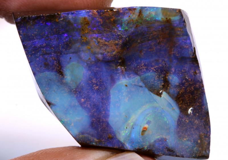 Boulder Opal Faced Rub 75 Carats DO-1320