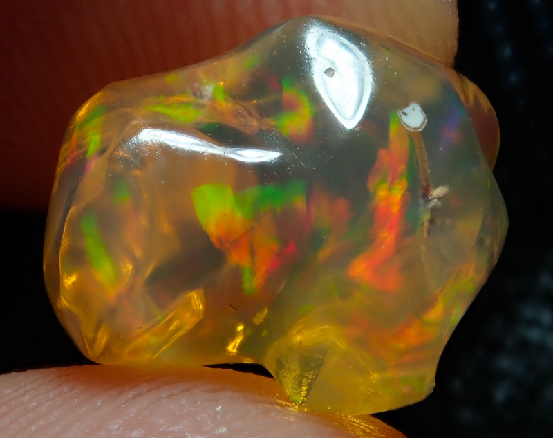 4.59ct Fire Opals With Play Of Color