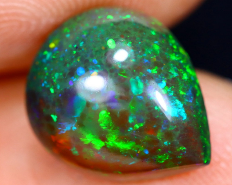 2.75cts Natural Ethiopian Smoked Welo Opal / BF5010