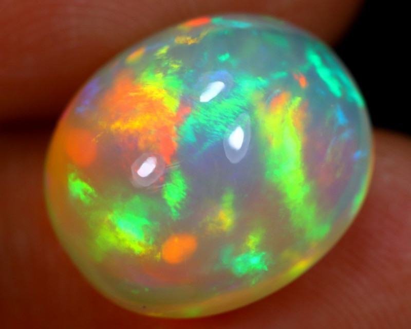 7.81cts Natural Ethiopian Welo Opal / BF4994
