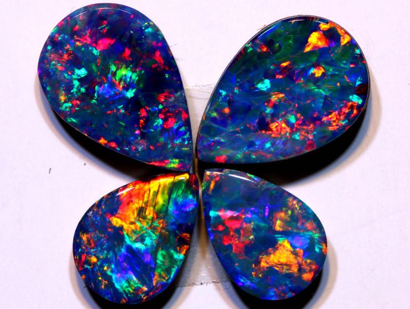 Opal Doublets Gem Grade  DO-1305 - downunderopals