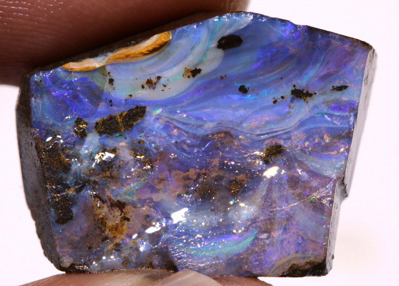 27cts Boulder Opal Faced Rough  DO-1390