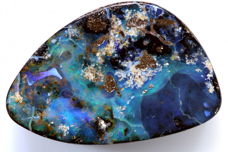 42.95 CTS BOULDER  OPAL STONE RO-596