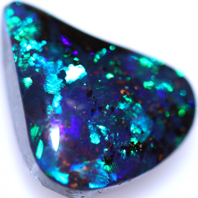 3.85 CTS BOULDER OPAL FROM WINTON - WELL POLISHED [BMB650]