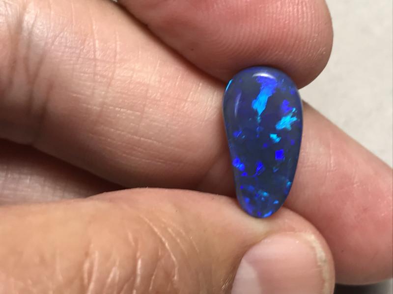 5.03 cts Black Opal - Lightning Ridge