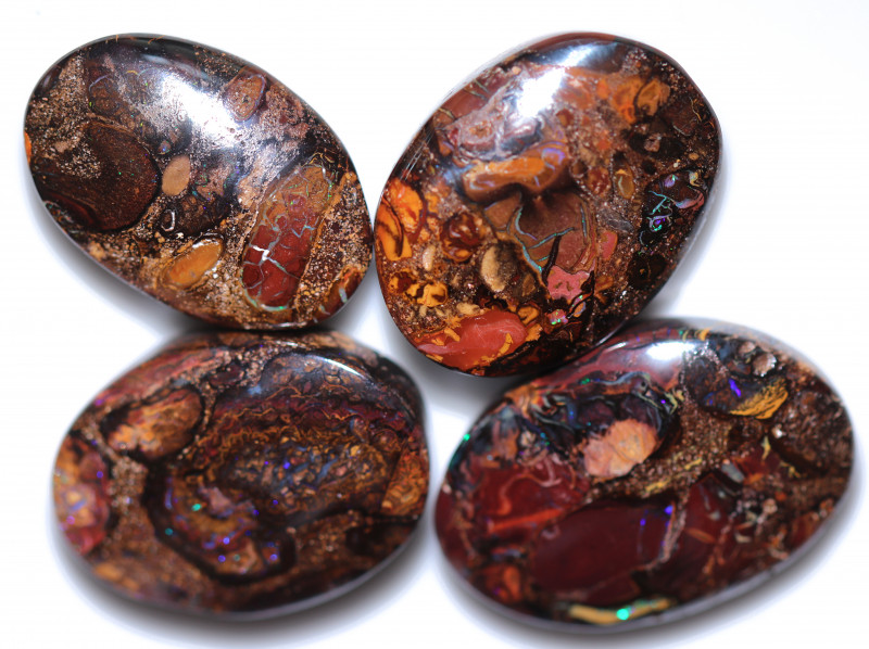 $12 EACH 166.50 CTS YOWAH  NUTS IN SANDSTONE PARCEL -OVALS [FJP4143]