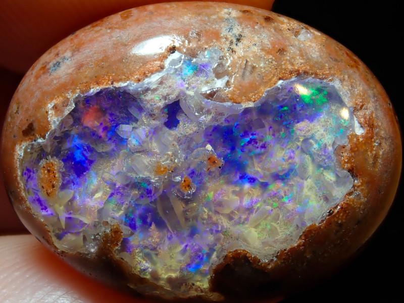 16.7ct Mexican Matrix Cantera Multicoloured Fire Opal