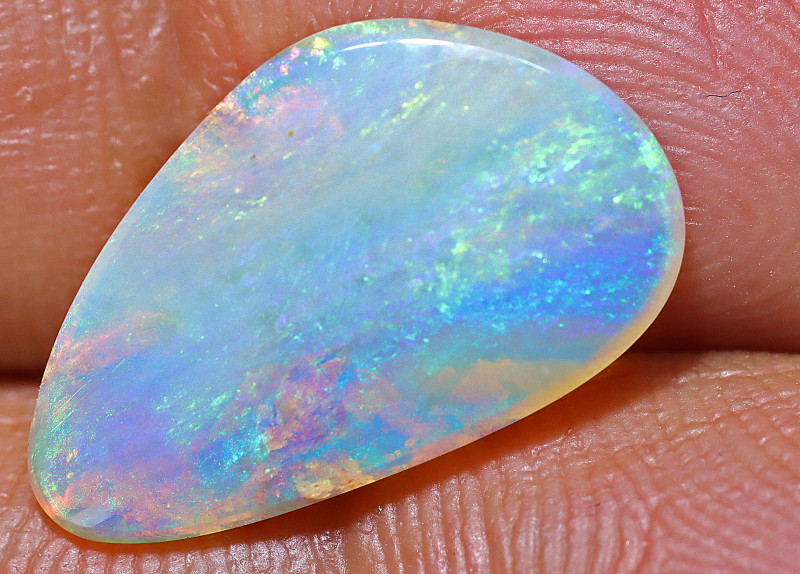 3.35 carats Wood Replacement Boulder Opal Cut Stone ANO-1218