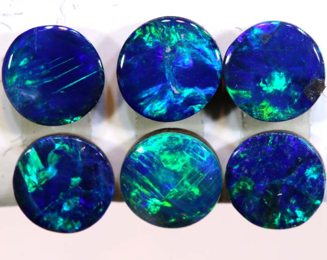 1.65 CTS  OPAL DOUBLET  CALIBRATED PARCEL  LO-6369