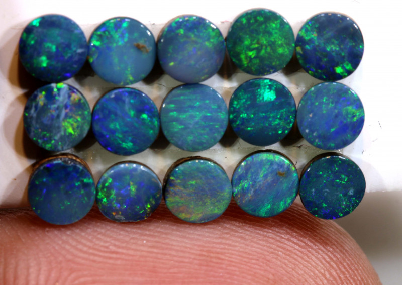 3.40 CTS  OPAL DOUBLET  CALIBRATED PARCEL  LO-6383