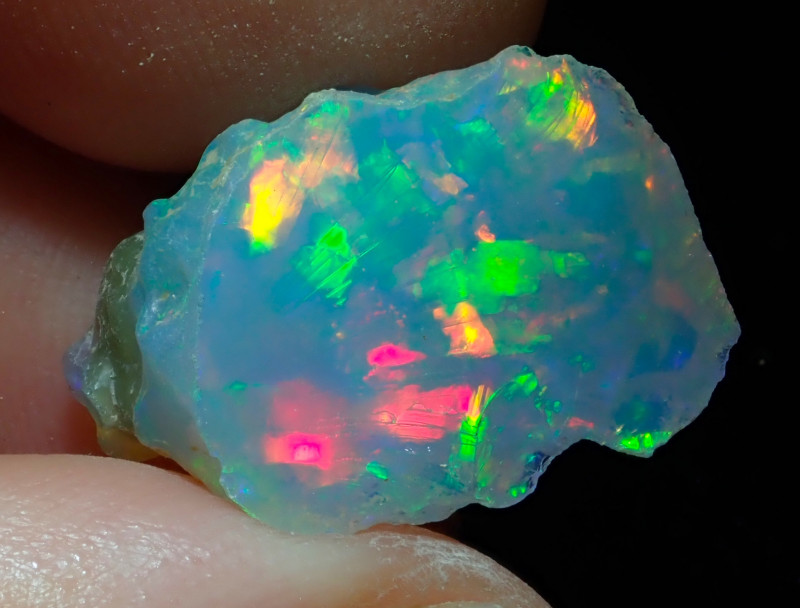 12.9ct A2 Cutting Rough Quality Solid Welo Opal
