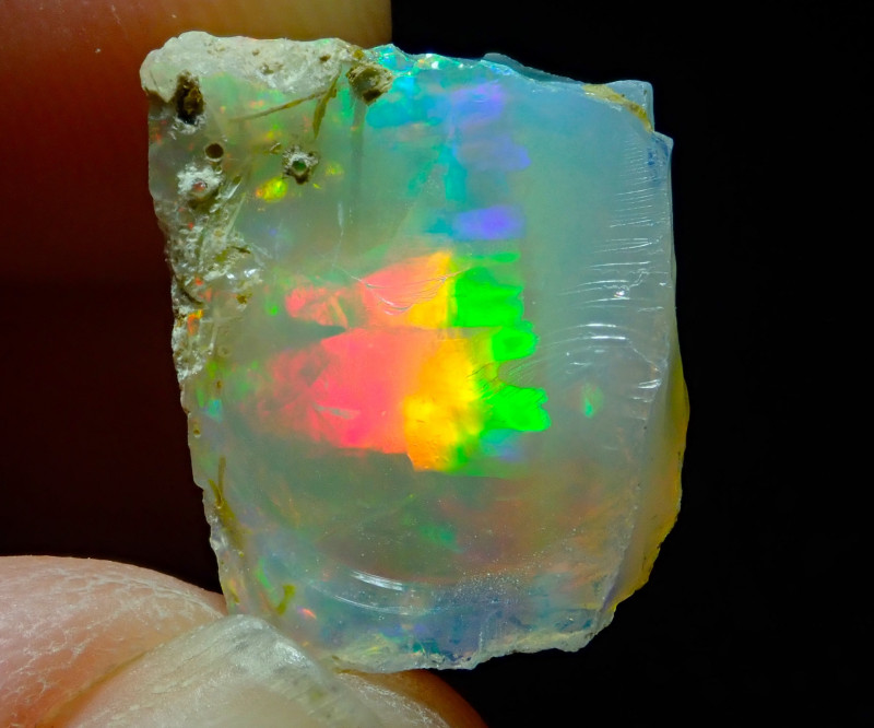 10.56ct A3 Cutting Rough Quality Solid Welo Opal