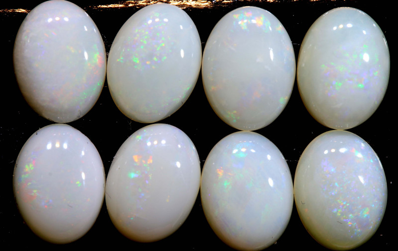 6.67 CTS   8 x 6  COOBER PEDY OPAL PARCEL  LO-6437