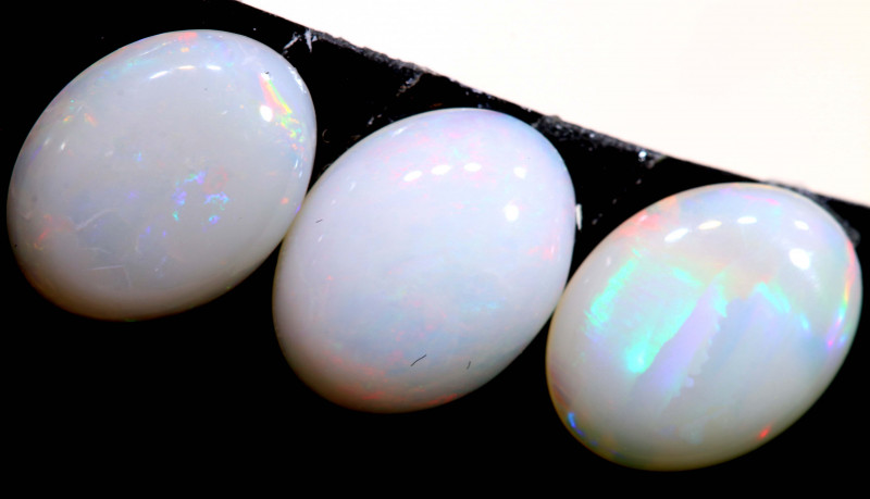 3.695 CTS   9 x 7  COOBER PEDY OPAL PARCEL  LO-6438
