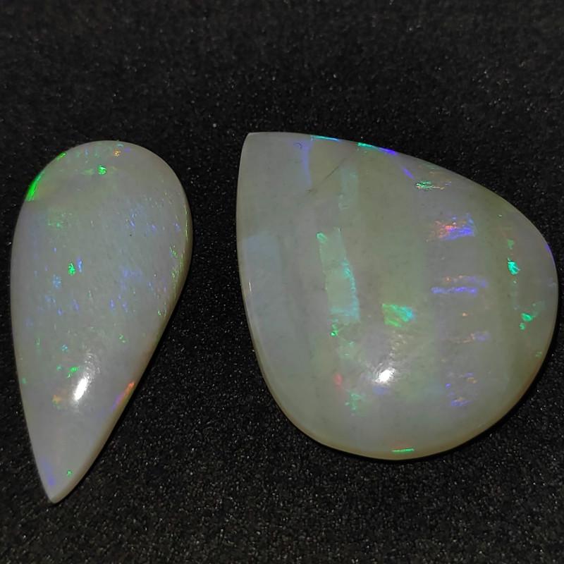 14.20 cts Pedras Lapidada Forma gota