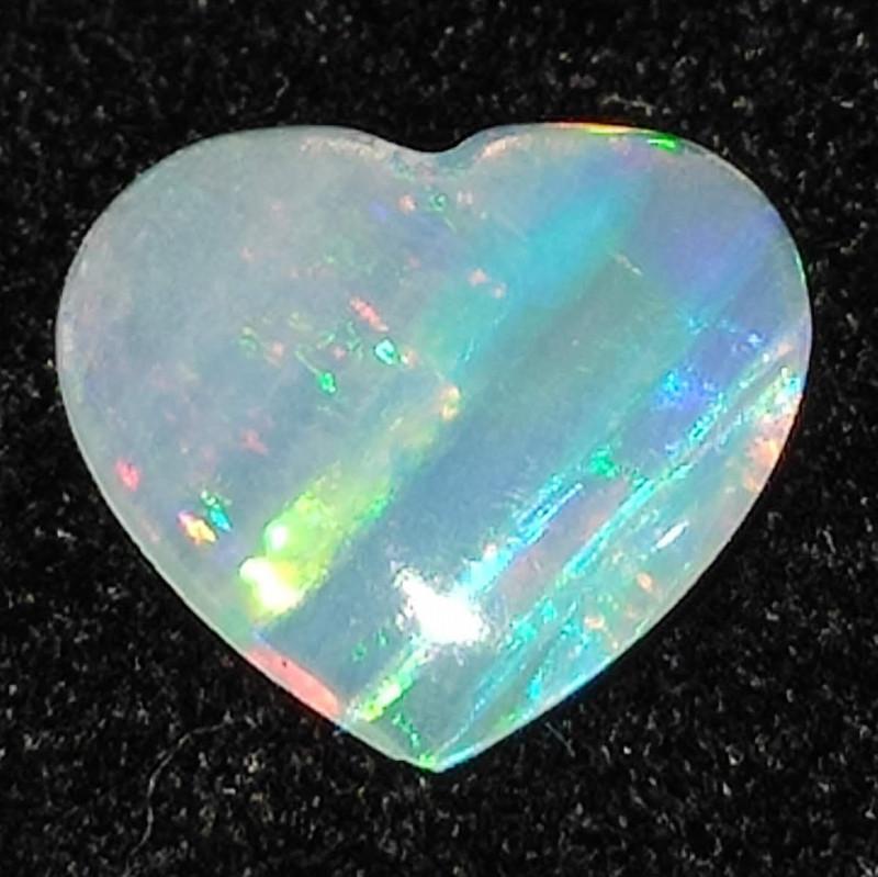 1.15 cts Pedra Lapidada Forma Coração