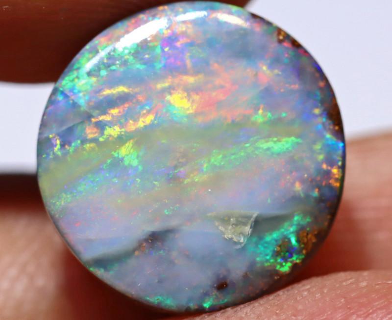 7.14 Carats Boulder Opal Polished Stone ANO-1247