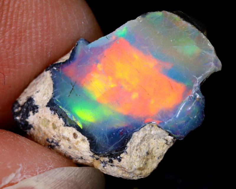 4cts Natural Ethiopian Welo Rough Opal / WR6262
