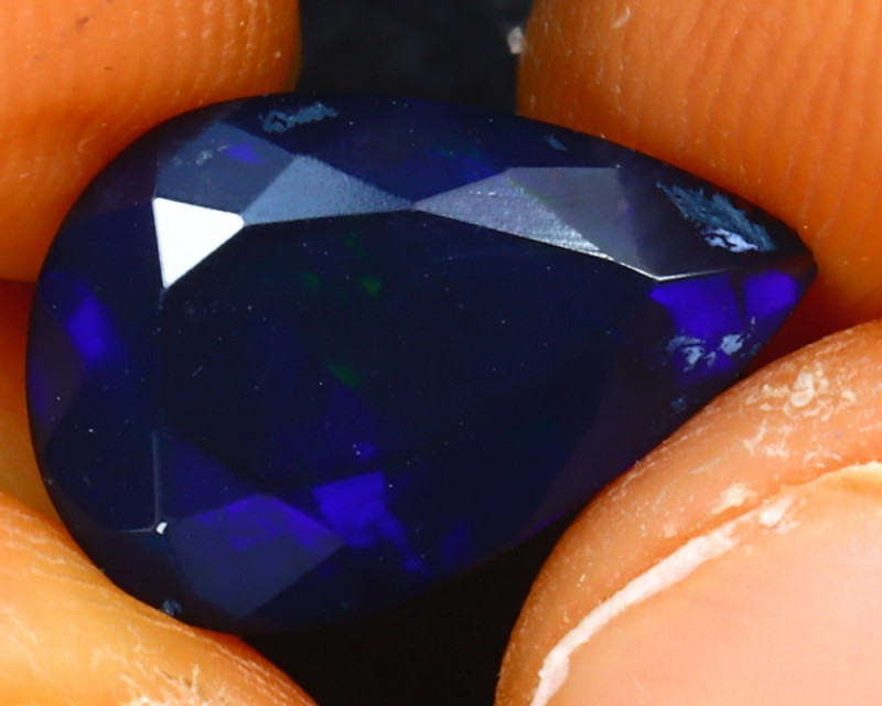 Welo Opal 1.68Ct Natural Ethiopian Smoked Welo Opal H1011/A28