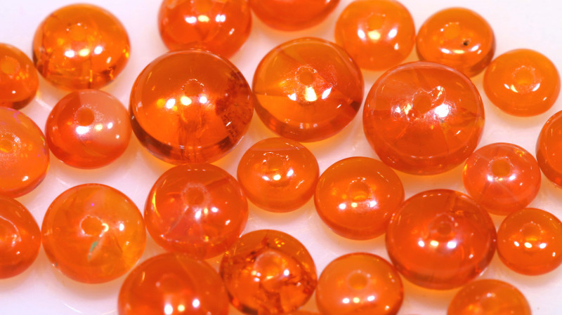 5 CTS -MEXICAN  FIRE OPAL BEADS FOB-2431