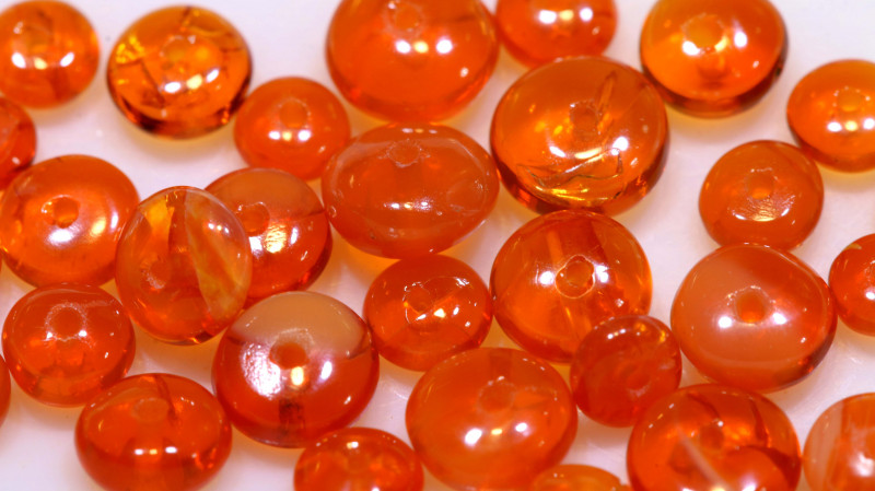 5 CTS -MEXICAN  FIRE OPAL BEADS FOB-2442
