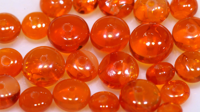 5 CTS -MEXICAN  FIRE OPAL BEADS FOB-2450