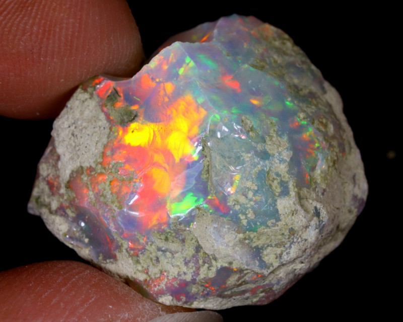 30cts Natural Ethiopian Welo Rough Opal / WR6310