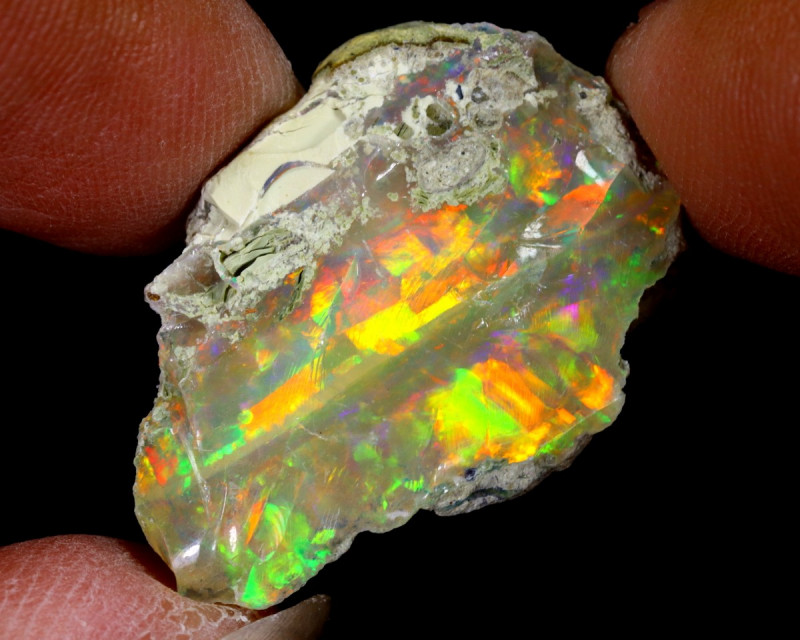 14cts Natural Ethiopian Welo Rough Opal / NY1141