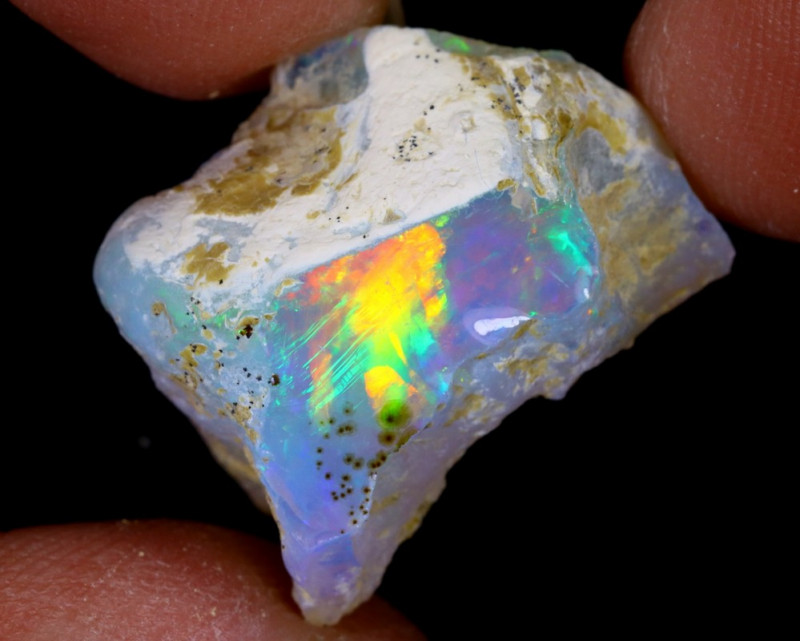 15cts Natural Ethiopian Welo Rough Opal / WR6455