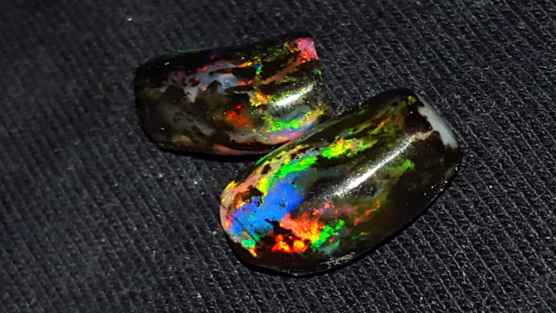 6.50 CRT RARE STUNING SPECIMENT INDONESIAN OPAL WOOD FOSSIL