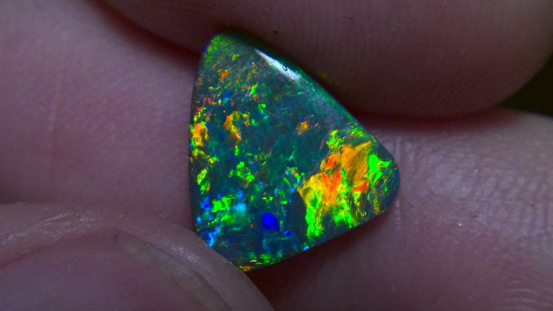 2.12cts Top Gem Lightning Ridge Black opal Collection CYC719